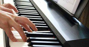 ピアノ練習の記憶