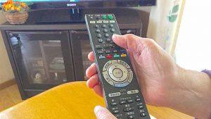 テレビ番組を見ながら脳のトレーニング