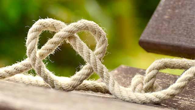 写真:ロープ